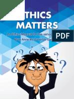 ethics and matters mary anne mc danel de garca