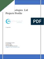 Pi Technologies Uganda Ltd Projects Profile II