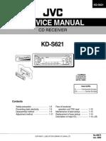 Jvc Kd-s621 Service Manual