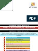 Semana No. 9-Coordinación Integral de Proyectos