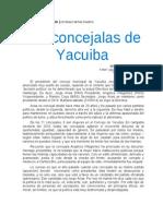 Las Concejalas de Yacuiba