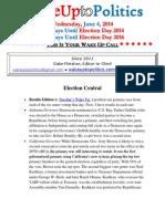 Wake Up to Politics - June 4, 2014
