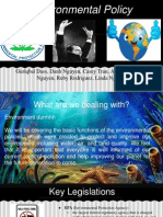 environment policy project