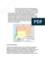 Research Paper French Mandate