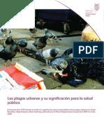 Plagas Urbanas Salud Publica