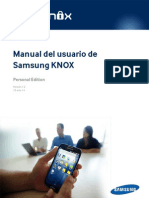Manual de Usuario de Samsung Knox