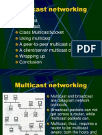 Multicast Groups