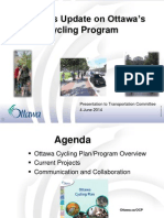 Update on Ottawa's Cycling Program - June 4 2014