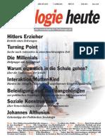 SOZIOLOGIEHEUTE_JUNIausgabe2014_Auszüge