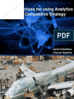 10 Best Practices for Using Analytics to Drive Competitive Strategy Final