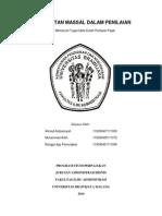 resume penilaian properti pendekatan massal