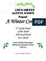 dec-13 larson band  program
