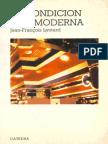 Lyotard - La condicion posmoderna.pdf