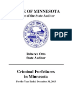 Forfeiture 13 Report