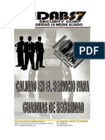 Manual de Funciones Calidad de Servicio Guardias Seguridad