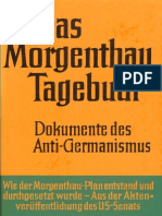 Schild, Hermann - Das Morgenthau Tagebuch - Dokumente Des Anti-Germanismus (1970, 427 S., Text)