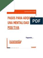 Adquirir Una Mentalidad Positiva