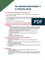 Tema 1 Organizaciones
