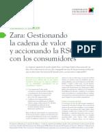 C02 Zara Gestionando La Cadena de Valor y Accionando La RSC Con Los Consumidores