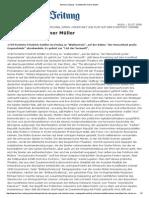Berliner Zeitung- Härtetest Für Heiner Müller