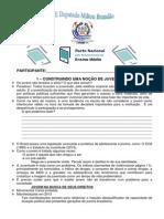 Questionário de Estudo de Formação - Pacto Nacional
