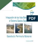 gasoducto baleares presentacion