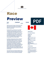 Formula One Canadian GP preview