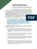 Praxeologia y Sistematizacion