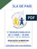 Escola de Pais - Cartaz
