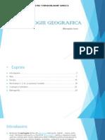 O Tipologie Geografica