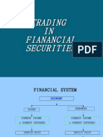 Trading in Financial Securities