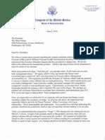 Va Letter to Potus