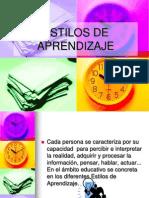 ESTILOS DE APRENDIZAJE.ppt