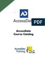 AD Course Catalog