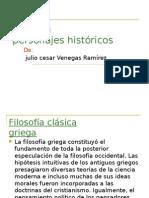 Filosofos de La Historia