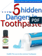 6 Hidden Dangers in Toothpaste 2009