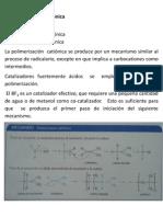 polimerizacion catiónica