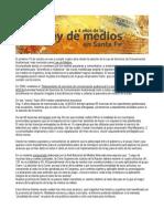 Investigación Ley de Medios en Santa Fe a 4 Años