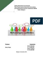 Metodologia Cualitativa Trabajo