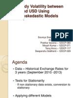 Treasury Analytics INR VS US$