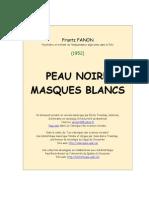 Peau Noire Masques Blancs