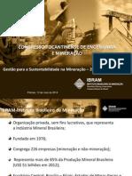 CONTEM 2014 - Gestão para a sustentabilidade na mineração