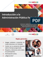 Introducción a La APF 2013 v7