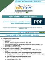 CONTEM 2014 - Apoio Do MME à PD&I Na Mineração