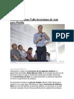 02-06-2014 Imagen Poblana - Buscará Moreno Valle Inversiones de Asia para Puebla ..
