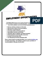 Employment Opportunities 6 2 2014