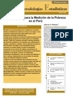 Metodologia Para La Medicion de La Pobreza en Peru-InEI