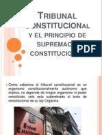 Tribunal Constitucional y El Principio de Supremacía Constitucional (1)