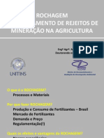 CONTEM 2014 - Aproveitamento de rejeitos de mineração na agricultura