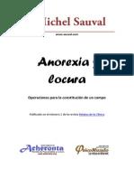 SAUVAL, M. - Anorexia y Locura